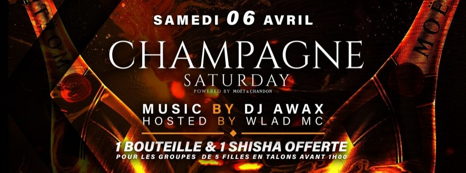 CHAMPAGNE SATURDAY • POWERED BY MOËT & CHANDON