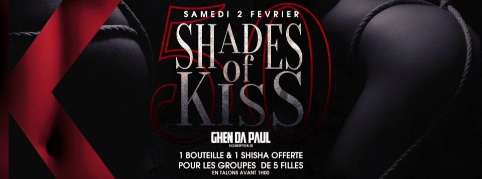FIFTY SHADES OF KISS